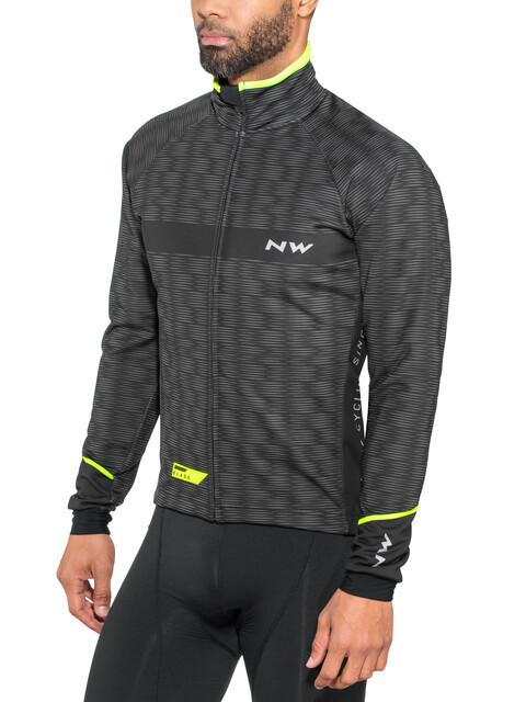 Northwave Blade 3 Total Protection Jacket Men black/yel.fluo
